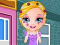 Малышка Барби в парикмахерской