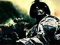 Американский солдат на вражеской линии