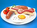 Яйца с беконом
