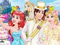 Принцессы Диснея готовятся к свадьбе