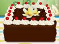 Тиана готовит шоколадный торт