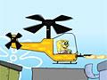 Спанч Боб на вертолете
