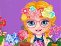 Малышка Барби: Безделье в цветочном магазине