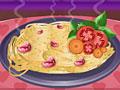 Спагетти с чесноком и базиликом