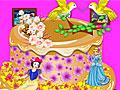Принцессы Диснея: Весенний торт