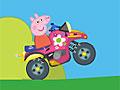 Свинка Пеппа на квадроцикле