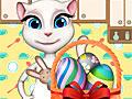 Говорящий кот: Пасхальный декор Анжелы