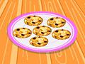 Шоколадно-вишневое печенье