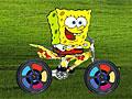Спанч Боб на мотоцикле