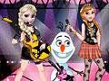 Холодное сердце: Рок-группа Анны и Эльзы