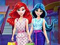 Принцессы Жасмин и Ариэль в торговом центре