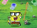 Спанч Боб ловит медуз