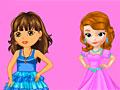 Даша и София на конкурсе красоты