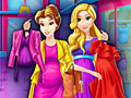 Беременные принцессы Диснея на шоппинге