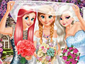 Принцессы Диснея на свадьбе Анны