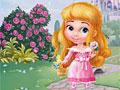 Принцесса Кори в цветочном саду