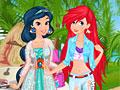 Принцессы Диснея: Летний отдых Жасмин и Ариэль