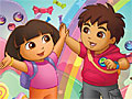 Даша и Диего в конфетной стране