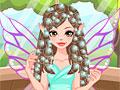 Принцесса фея в парикмахерской