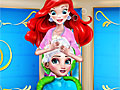 Принцессы Диснея: Прическа для Эльзы