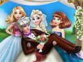 Принцессы Диснея: Свадебное фото Эльзы