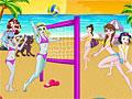 Принцессы Диснея против Монстр Хай в волейболе