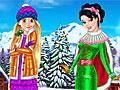Принцессы Диснея: Оденьте Рапунцель и Белоснежку