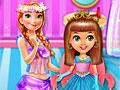 Уход за волосами принцессы малышки