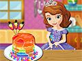 Принцесса София готовит радужные блинчики