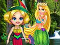 Гидромассажная ванна для лесной принцессы
