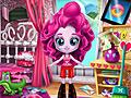 Девушки Эквестрии: Пинки Пай убирает комнату