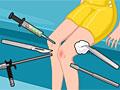 Операции на колене школьницы