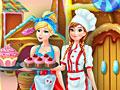 Принцессы Диснея: Фабрика кексов Анны и Золушки