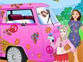 Принцессы Диснея: Хиппи на автомойке