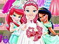Свадьба маленькой принцессы Диснея
