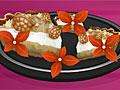 Кокосовый пирог с кремом
