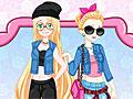 Принцессы Диснея: Золушка и Рапунцель в школе