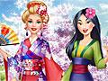 Принцессы Диснея: Барби гостит у Мулан