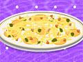 Рапунцель готовит пиццу для малышки