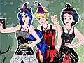 Принцессы Диснея делают селфи на Хэллоуин