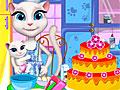 Говорящий кот: Анжела готовит торт