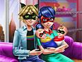 Леди Баг и Супер Кот: День с близнецами