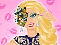 Яркий макияж Барби