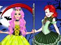 Принцессы Диснея: Эльза и Белоснежка на Хэллоуин