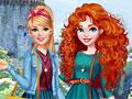 Принцессы Диснея: Барби в гостях у Мериды