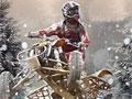 Снежные гонки на квадроциклах
