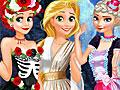 Принцессы Диснея: Веселье на Хэллоуин
