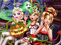 Принцессы Диснея: Жуткий Хэллоуин