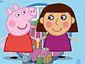 Свинка Пеппа и девочка