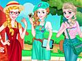 Принцессы Диснея: Колледж-стиль